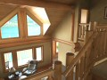 Family room from top of stairway