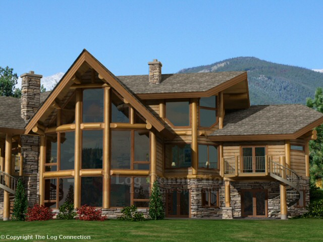 Blue Ridge Log Home Pictures