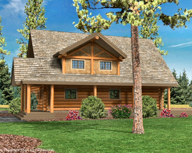 Chinook Log Home Pictures