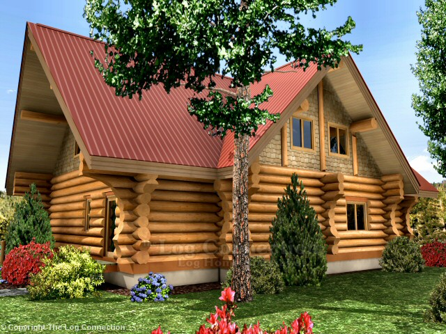 Creston Log Home Pictures