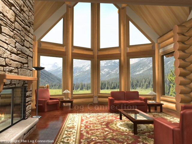 monashee log home pictures