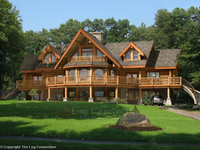 bavarian dream log home design by the log connection