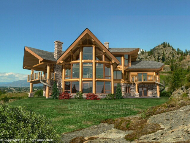 Blue Ridge Log Home Design By The Log Connection
