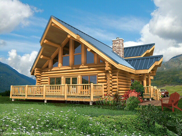 Juniper Log Home Design By The Log Connection