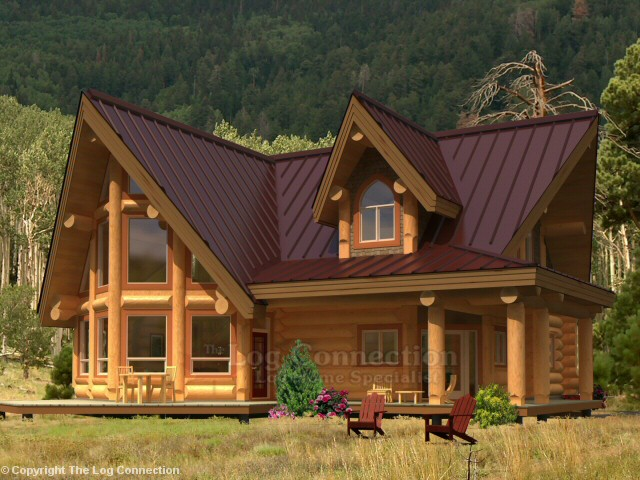 Northland Log Home Design By The Log Connection